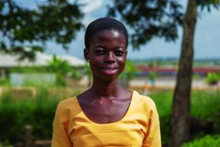 Esther Amankwah Baodu, School student, Abountem village, Ghana