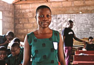 Pascaline Ehoh, School student, Volta Region, Ghana