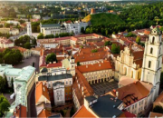 View of Vilnius, Lithuania, where the General Assembly will take place.