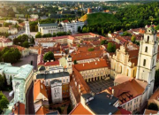 View of Vilnius, Lithuania, where the workshop will take place.