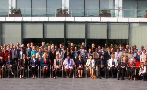 Photo of delegates from 2014 General Assembly.
