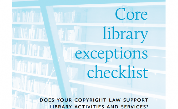 Cover of booklet about Core library exceptions