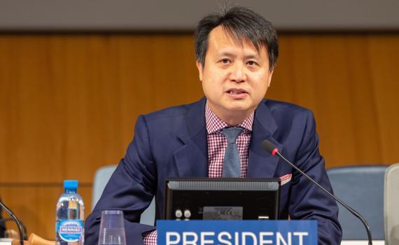 The new Director General of WIPO, Mr Daren Tang.